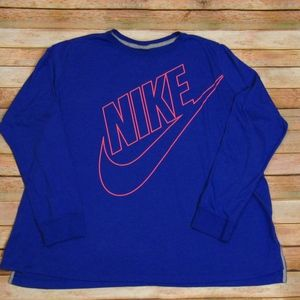 Nike Purple and Pink Crew Neck Tee 2X
